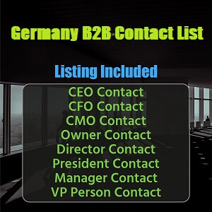 Germany B2B Contact List