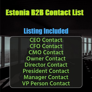 Estonia B2B Contact List