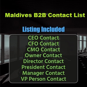 Maldives B2B Contact List
