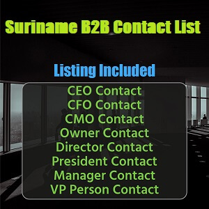 Buy Suriname Email Lead